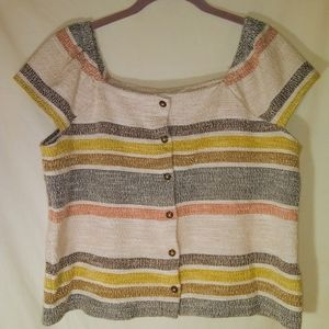 Texture & Thread by Madewell Short Sleeve Top
